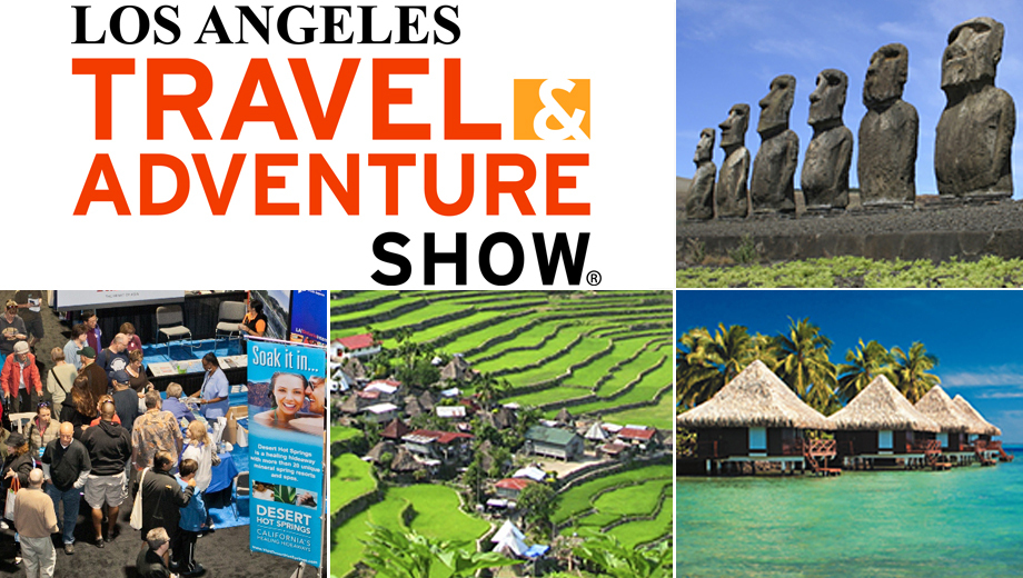 Los Angeles Travel & Adventure Show, With Travel Channel Celebrity Appearances $5.50 ($11 value)