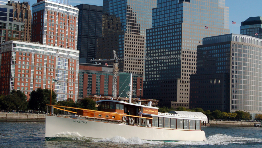 Lower Manhattan Architecture Tour Aboard an Elegant Yacht $27.60 ($46 value)