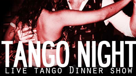 Argentine Tango Dinner Show: Fiery Moves & Flavorful Foods $25.00 ($60 value)