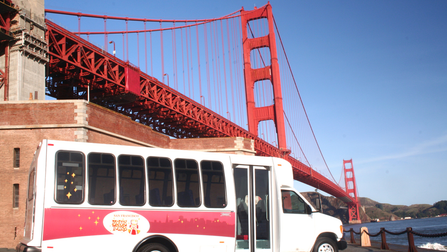 San Francisco Movie Tours: Luxury Coach Tour to Famous Film Sites $24.50 ($49 value)