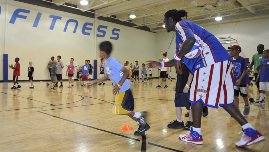 Harlem Globetrotters' Basketball Clinic, Plus Game Vouchers $54.00 ($109 value)