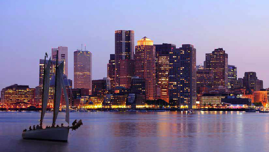 City Lights Sail of Boston Harbor Aboard Classic Schooner $24.00 ($39.9 value)