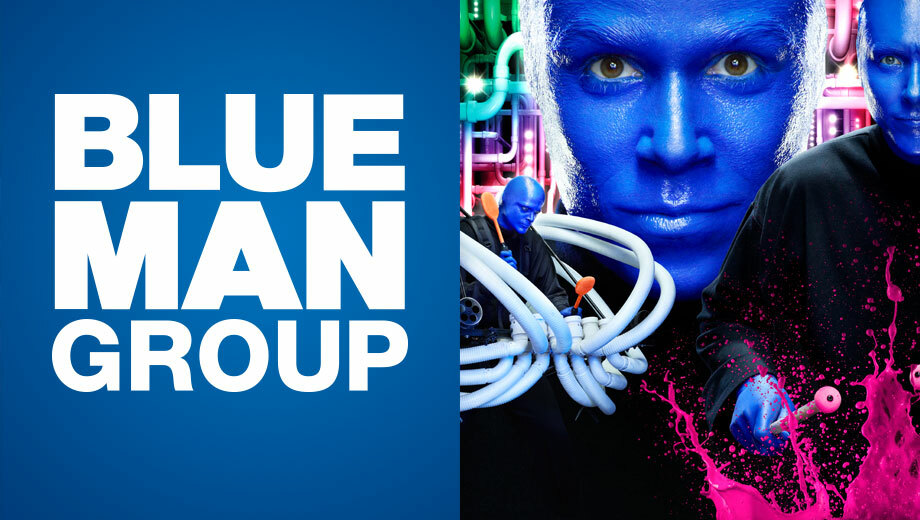 Blue Man Group: Worldwide Sensation at the Charles Playhouse $30.55 ($57.5 value)