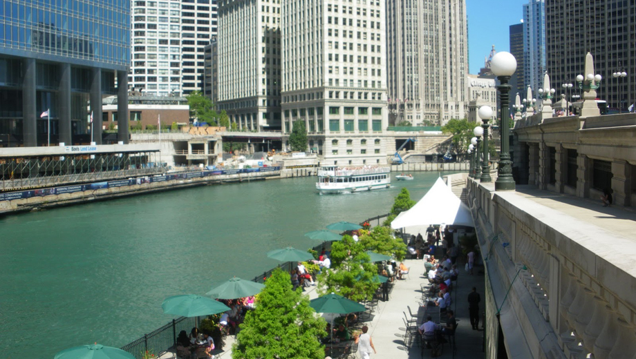 Explore Chicago's River Walk on a Guided Sightseeing Tour & Short Boat Ride $10.00 ($20 value)