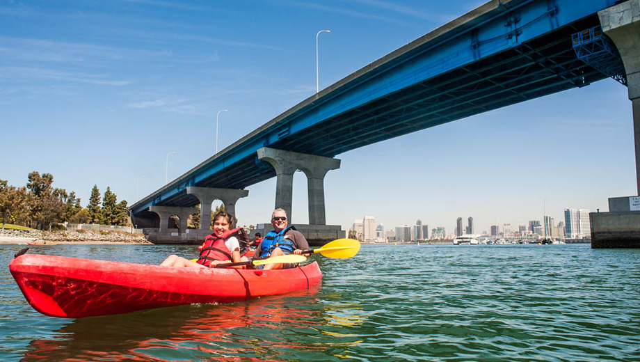 Explore San Diego Bay on a 2-Person Kayak Tour $19.00 - $29.00 ($59 value)