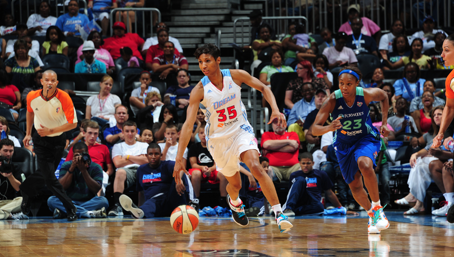 WNBA Basketball: The Atlanta Dream at Philips Arena $10.00 - $23.00 ($20 value)