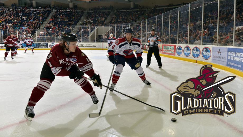 Catch Hard-Hitting Hockey Action With the Gwinnett Gladiators $12.00 ($24 value)