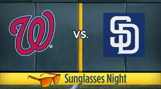 Mlb nationals padres sunglasses