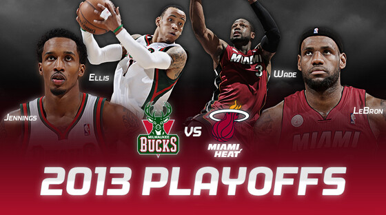 Playoffs bucks vs heat 041713