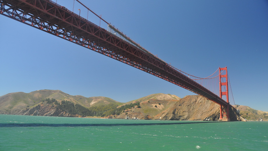 Red and White Fleet's Golden Gate Bay Cruise COMP - $14.00 ($28 value)