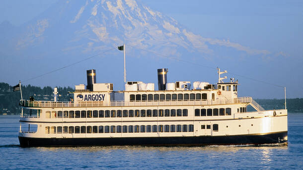 a taste of seattle history lunch cruise - Argosy Christmas Ships 2014