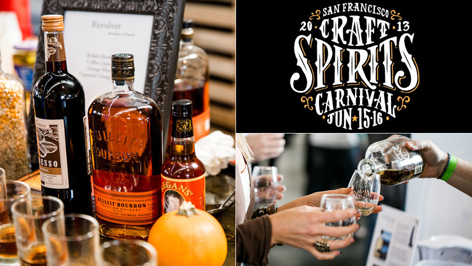 The World's Largest Tasting Room: SF Craft Spirits Carnival $30.00 - $57.00 ($75 value)