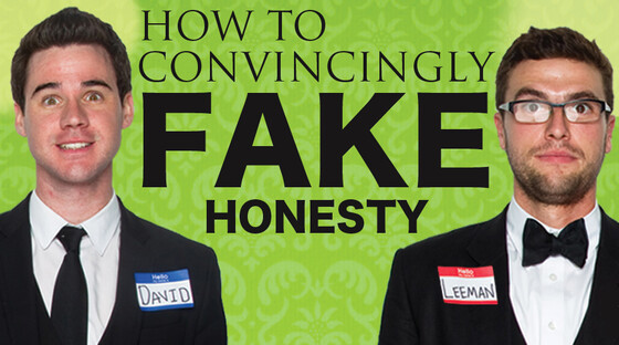 Fake honesty 920