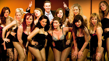 Improv Meets Striptease in