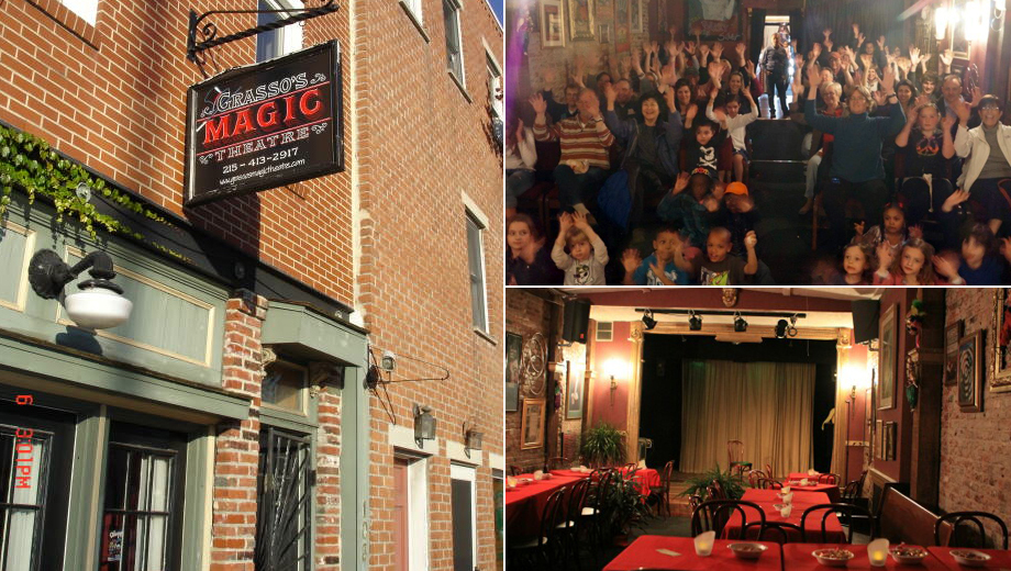 Magical Fun at Grasso's Magic Theatre $7.50 ($15 value)
