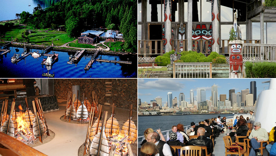 Tillicum Village Salmon Bake and Cruise Adventure $62.00 ($87.58 value)