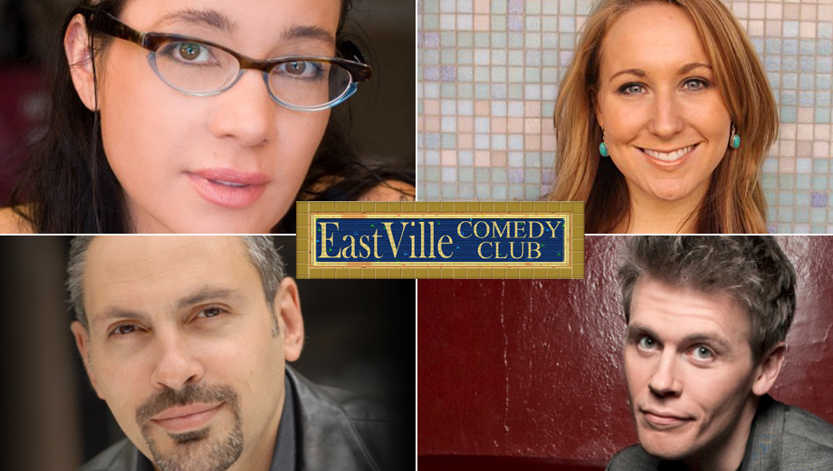 EastVille Comedy Club Presents Top National Stand-Ups COMP ($20 value)