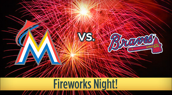 Marlins braves fireworks 920