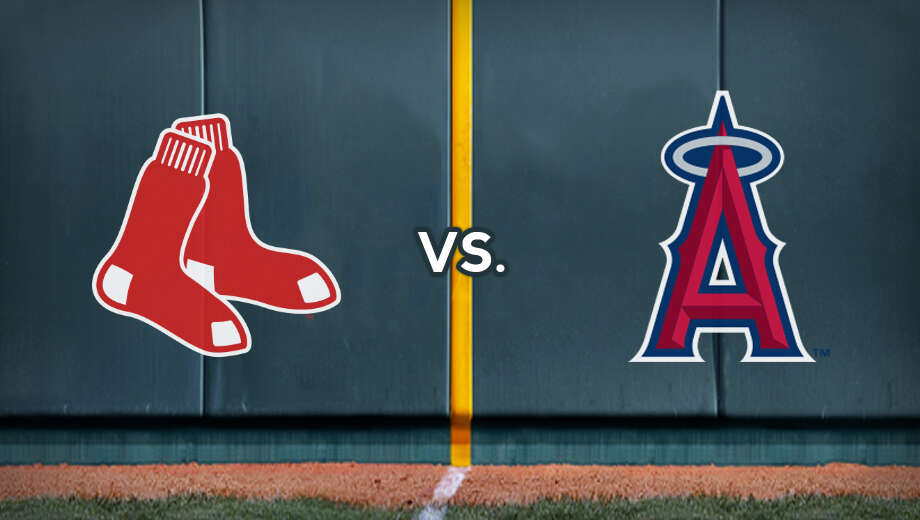 Mlb redsox angels