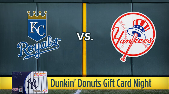 Mlb royals yanks donutcard