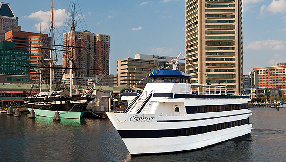 Spirit Cruises Offer Dining & Dancing on Baltimore's Inner Harbor $47.80 - $59.77 ($76.97 value)