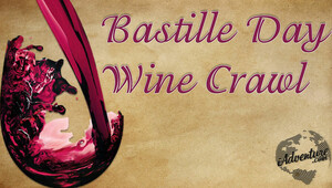 Wine crawl bastille 062713