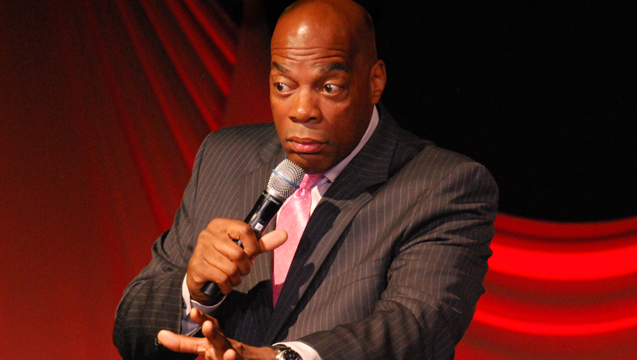 Comedian Alonzo Bodden: