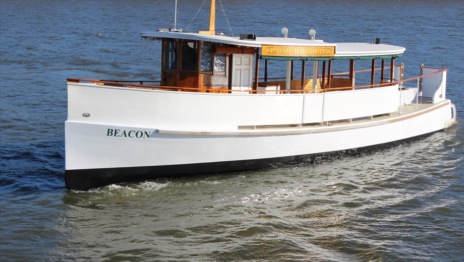 Sunset Cruise Down the Hudson Aboard Mini-Yacht Beacon $24.00 ($40 value)