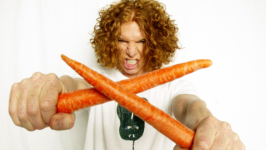Carrot Top and His Crazy Comic Antics, Live at the Luxor $37.98 ($68.94 value)
