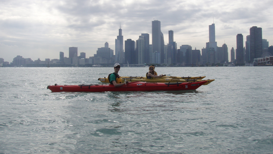 Paddle Lake Michigan with Kayak Chicago $32.50 ($65 value)