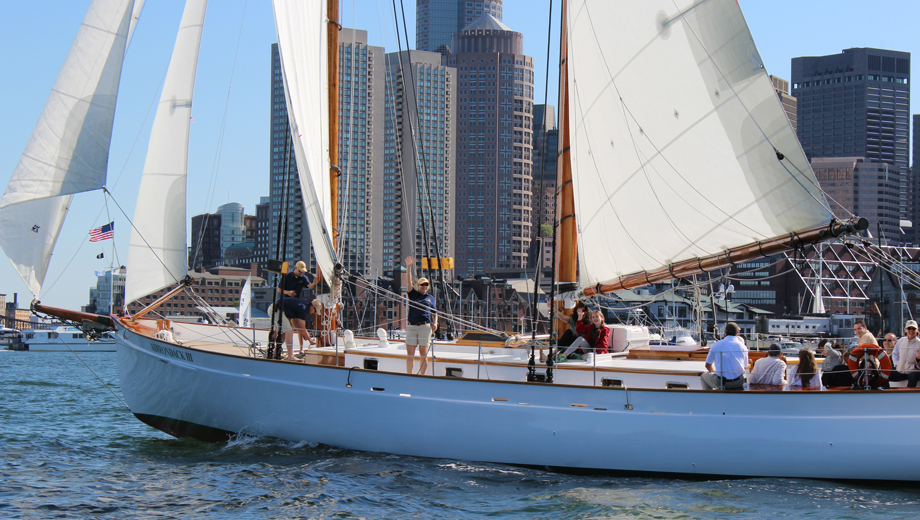 Morning Mimosa Sail on the Schooner Adirondack III $24.00 ($39.9 value)
