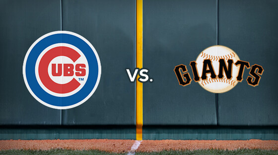 Mlb cubs giants