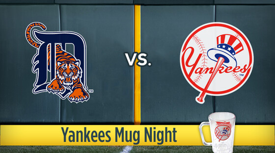 Mlb tigers yankees mug
