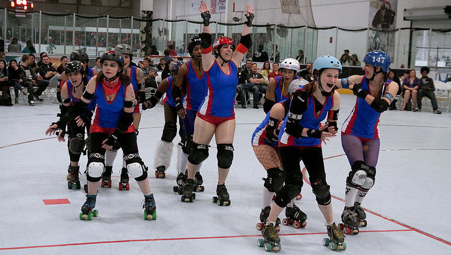 OC Roller Girls Roller Derby: Flat Track Action $6.50 - $10.00 ($13 value)