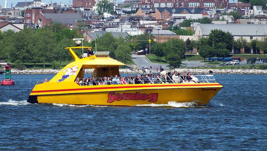 Seadog Speedboat Tour of Baltimore: Sightseeing & Thrills $15.01 ($25.02 value)
