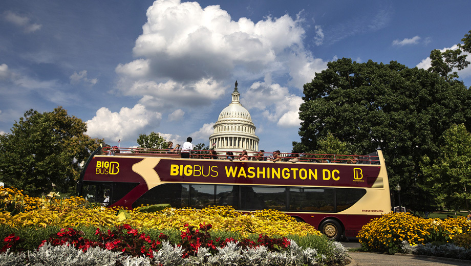 See D.C. -- 48-Hour Hop-On, Hop-Off Tour With Included Admission to Attractions $18.00 - $30.00 ($46 value)