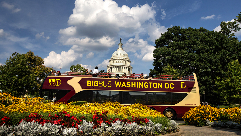See D.C. at Your Own Pace -- Big Bus