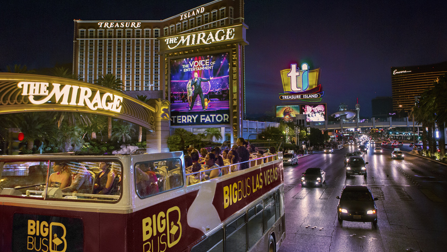 Hop-On, Hop-Off Las Vegas Bus Tour: Hotels, Casinos, Shopping, Sights $19.50 - $24.50 ($39 value)