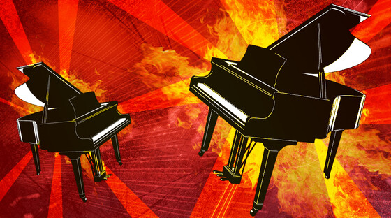 Dueling pianos created