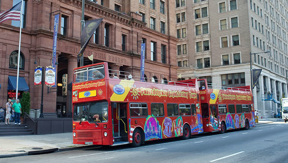 Philly's 50 Most Popular Sights: Hop-On, Hop-Off Tour $13.50 ($27 value)