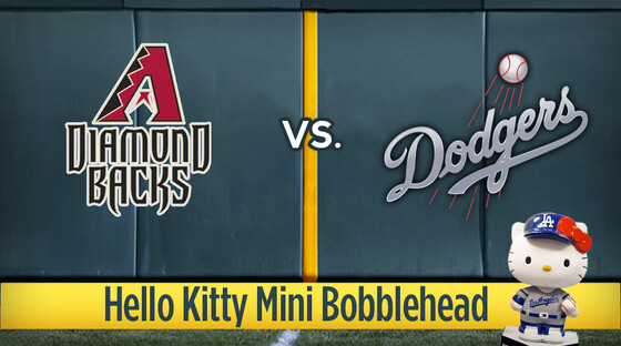 Mlb diamondbacks dodgers kitty