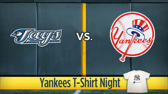 Mlb jays yankees tshirt