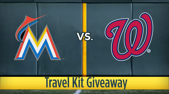Mlb marlins nationals travelkit