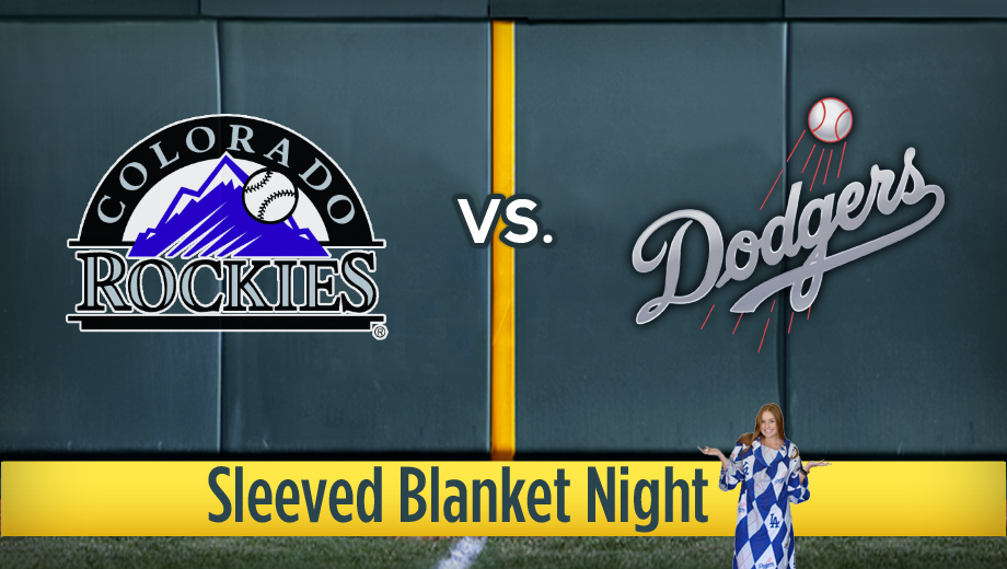 Los Angeles Dodgers  Sleeved Blanket Night Los Angeles Tickets - n a at  Dodger Stadium. 2013-09-28 b840085b2c