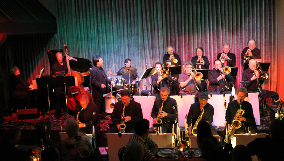 Big Band Swing: Mike Galisatus With Duane Lawrence $10.50 ($21 value)