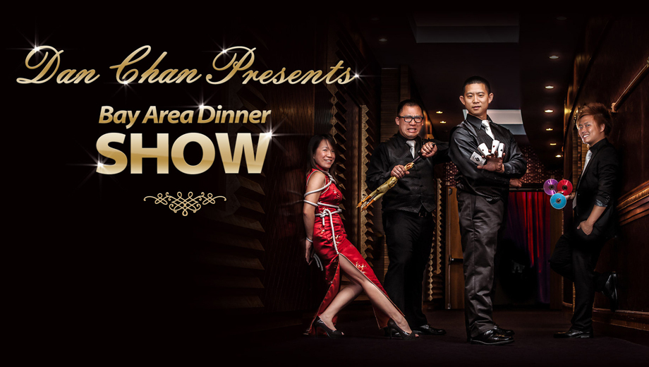 Cupertino: Magic and Dinner Show at Dynasty Seafood Restaurant $30.00 - $75.00 ($60 value)