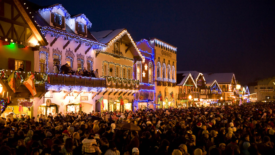 Attractive Leavenworth Christmas Lighting Festival Great Pictures