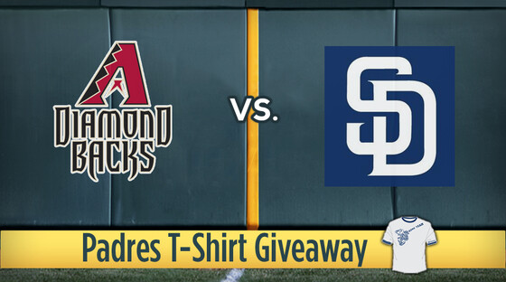 Mlb diamondbacks padres tshirt