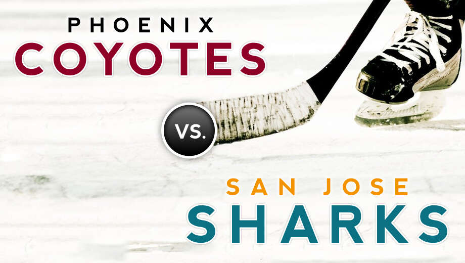 Nhl coyotes sharks