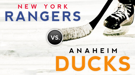 Nhl rangers ducks